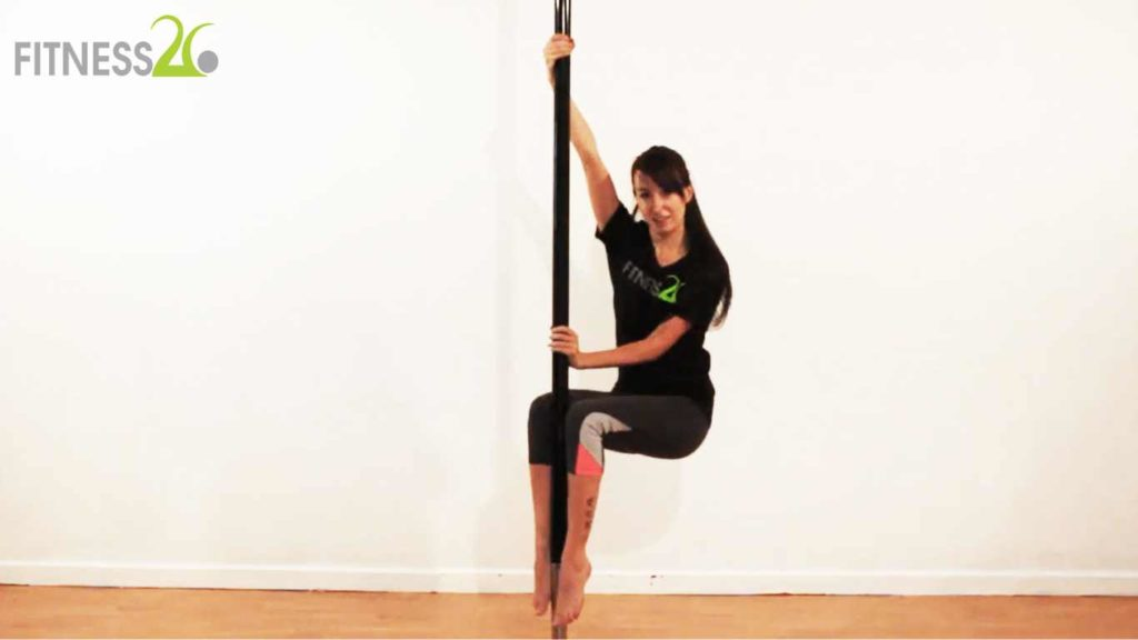 Pole Dancing Tricks And Stretching Exercises – Nikki