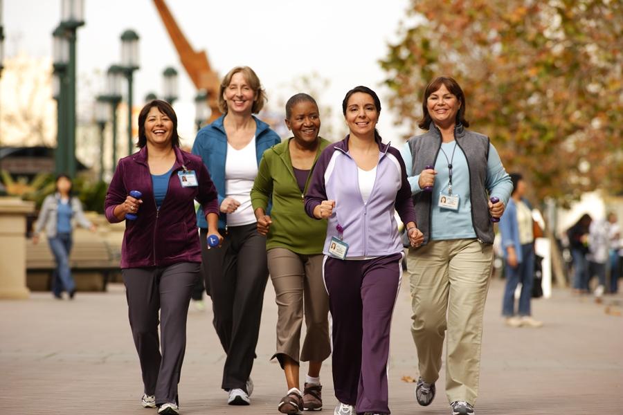 group-walking