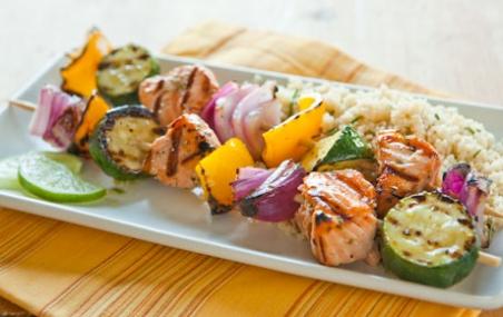 rosemary salmon-kabab's-2